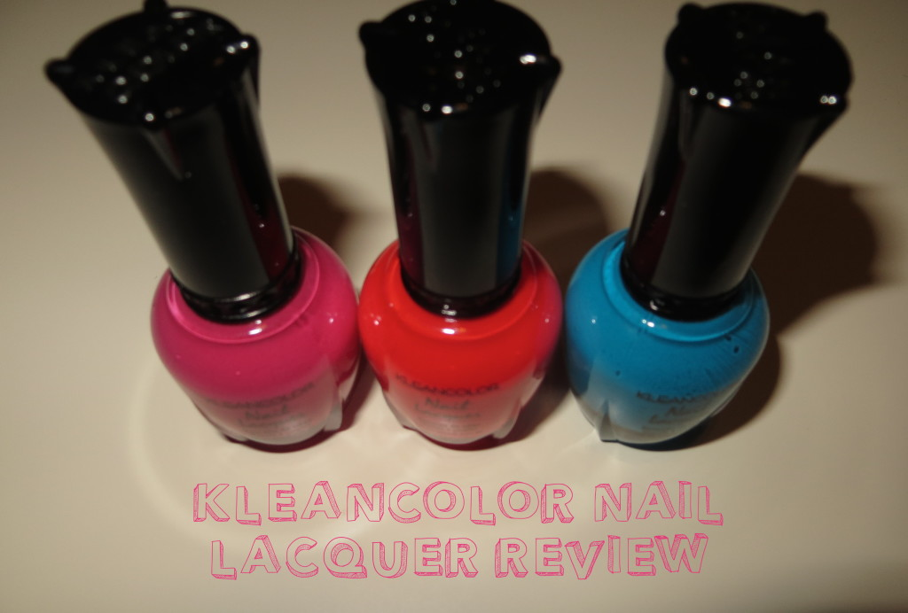 KleanColor Nail Polish Review - Not Another Cover Girl